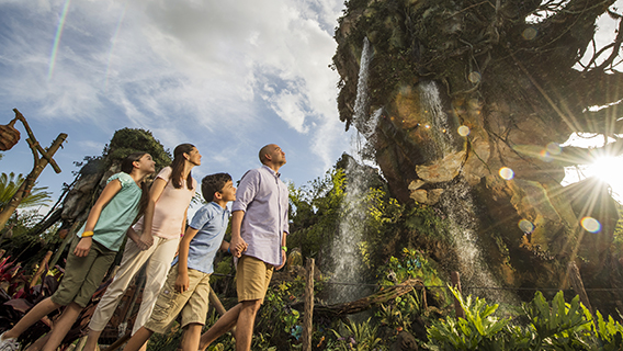 Experience Pandora - World of Avatar now at Disney's Animal Kingdom Theme Park