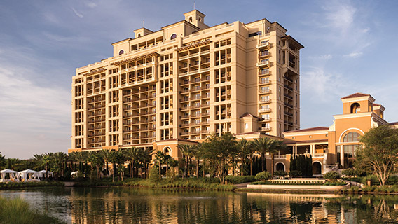 The exterior of Four Seasons Resort Orlando
