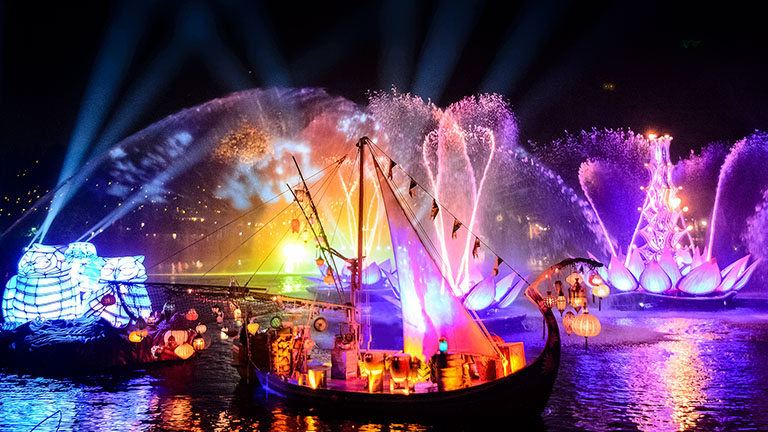 Rivers of Light Nighttime Spectacular at Disney's Animal Kingdom Park